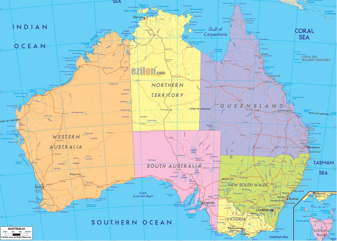 kart over australia Australia kart hd   Kart over Australia hd (Australia og New  kart over australia