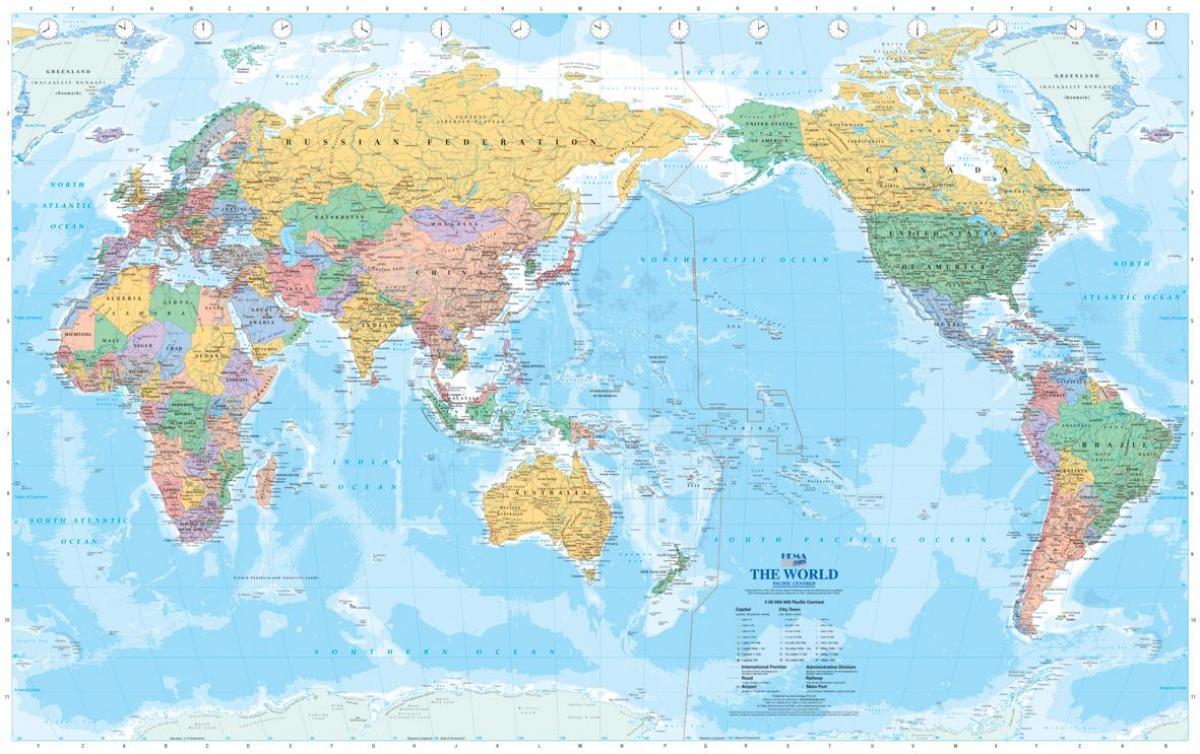 kart over verden Australia kart over verden   Australske kart over verden  kart over verden