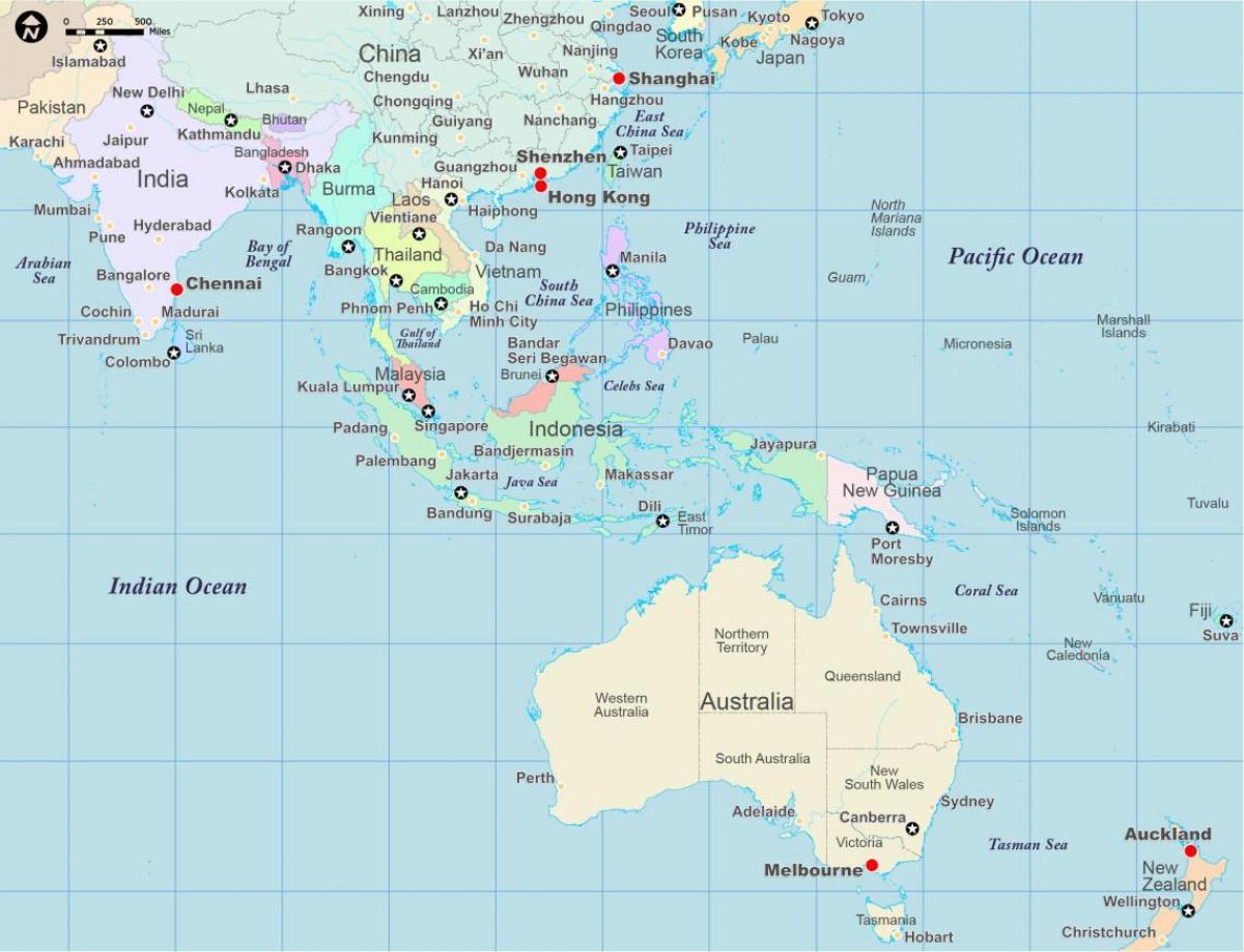 kart over asia Kart over asia og Australia   Asia og Australia kart (Australia og  kart over asia